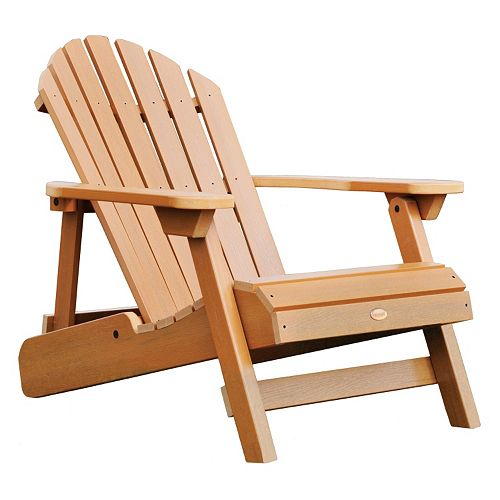 Highwood Hamilton Folding Amp Reclining Adirondack Chair Adult