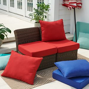 Sonoma Goods For Life® Presidio 2-pc. Patio Chair Seat Cushion Set - Outdoor