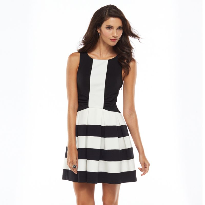 Simple Women39s Chaps Colorblock Sheath Dress