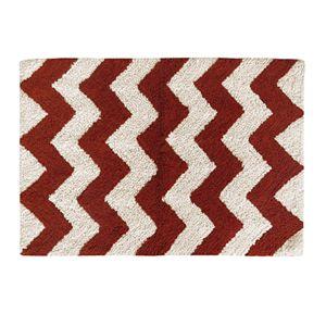 Colordrift Zigzag Bath Rug - 20'' x 30''
