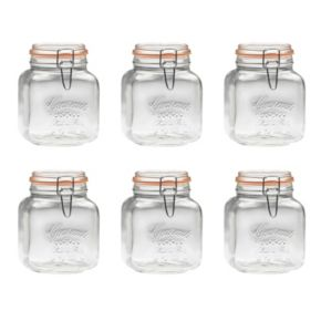 Global Amici Gourmet 6-pc. Hermetic Canister Set
