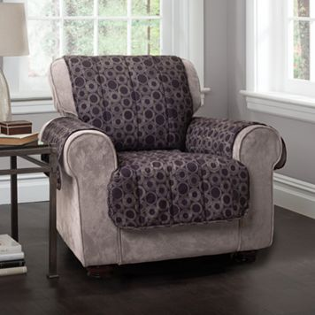 Innovative Textile Solutions Circles Microfiber Chair Protector
