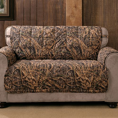 Remarkable Mossy Oak Shadow Grass Camo Loveseat Protector Theyellowbook Wood Chair Design Ideas Theyellowbookinfo