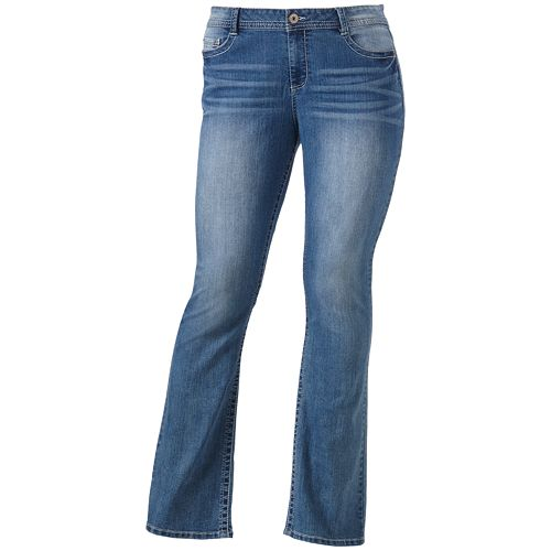 9cbf349b62f Juniors  Plus Size Mudd® Light Wash Skinny Bootcut Jeans