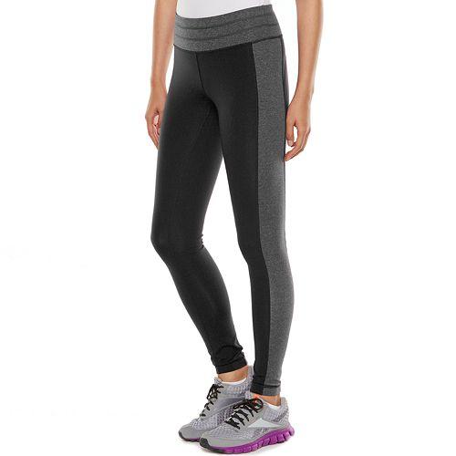 b412366a94608 Women's Tek Gear® Shapewear Colorblock Workout Leggings