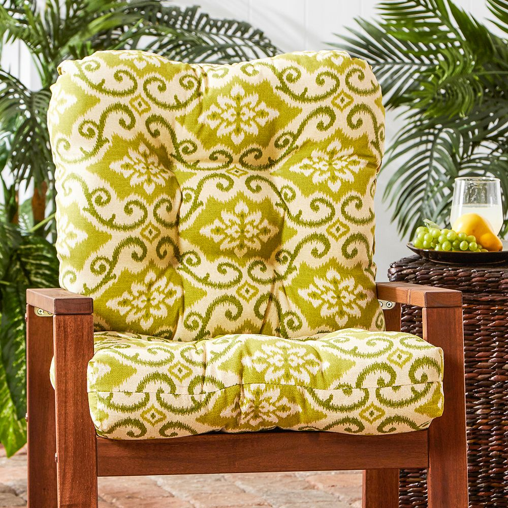 Greendale Home Fashions Seat & Back Outdoor Chair Cushion - Tall