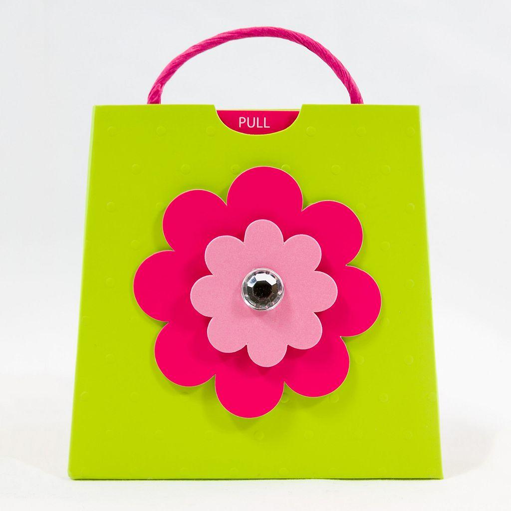 Gift Card Impressions Floral Gift Card Holder Bag