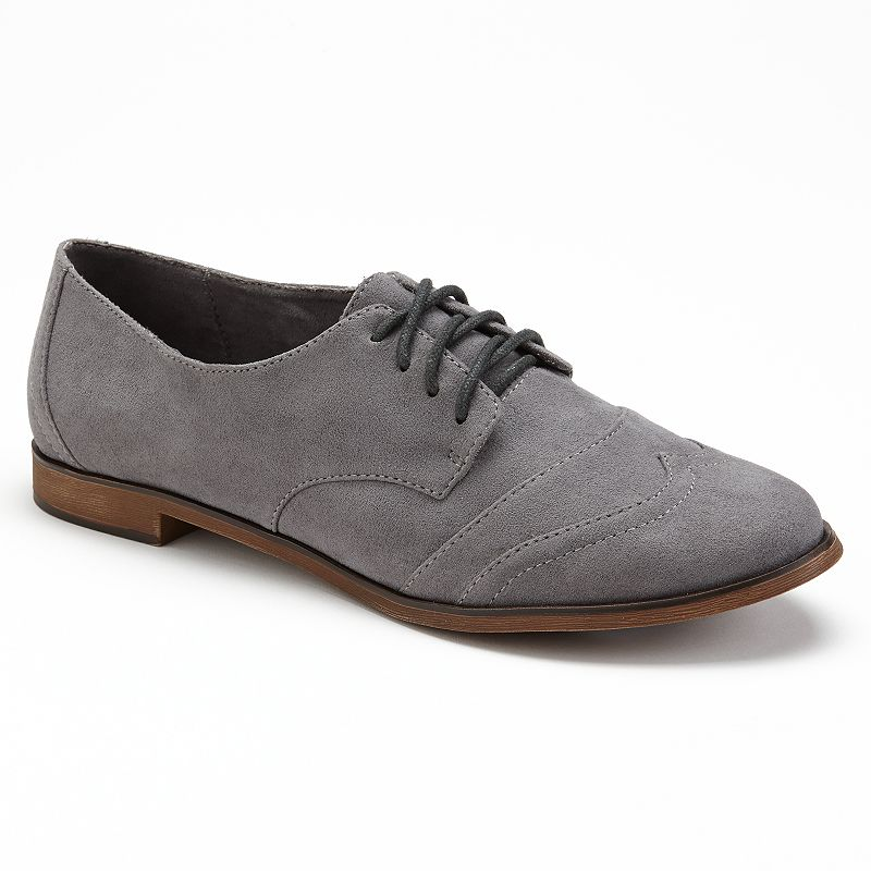 Unleashed by Rocket Dog Ladeen Oxford Shoes - Women (Grey)