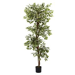 nearly natural 6-ft. Variegated Ficus Tree