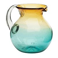 Amici by Global Amici Monterey Glass Pitcher