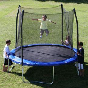 Skywalker Trampolines 10-ft. Round Trampoline with Enclosure
