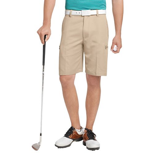 Men's IZOD XFG Solid Microfiber Performance Cargo Golf Shorts