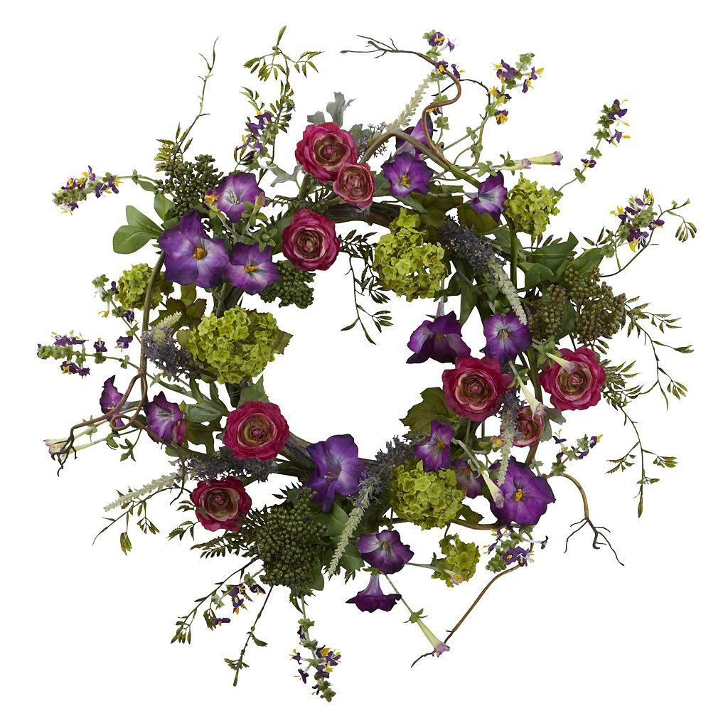 nearly natural Veranda Garden Wreath
