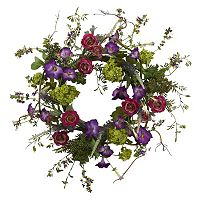 nearly natural Veranda Garden Wreath