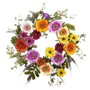 nearly natural African Sunflower Wreath