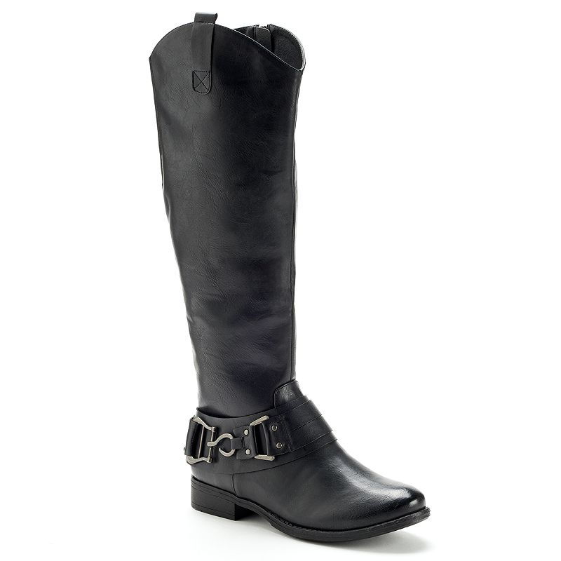 SONOMA life + style Black Women's Riding Boots