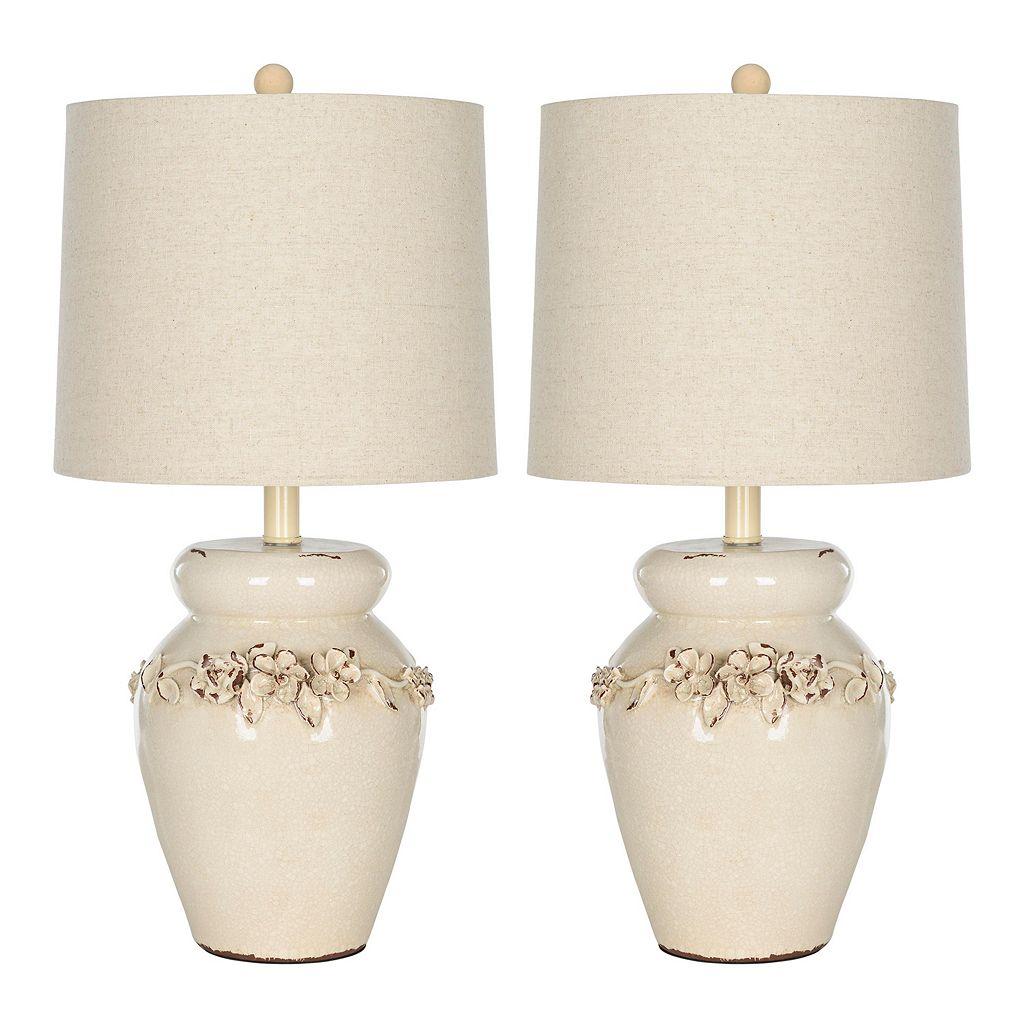 Safavieh 2-piece Marquesa Vase Table Lamp Set