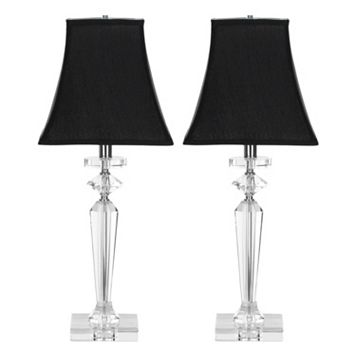 Safavieh 2-piece Harlow Crystal Table Lamp Set