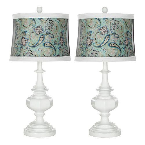 Safavieh 2-piece Ella Table Lamp Set