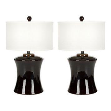 Safavieh 2-piece Gary Table Lamp Set