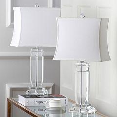 Safavieh 2 pc Olympia Crystal Table Lamp Set