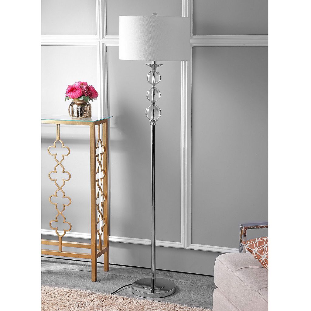 Safavieh Pippa Glass Globe Floor Lamp