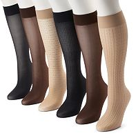 Apt. 9® 6-pk. Trouser Socks