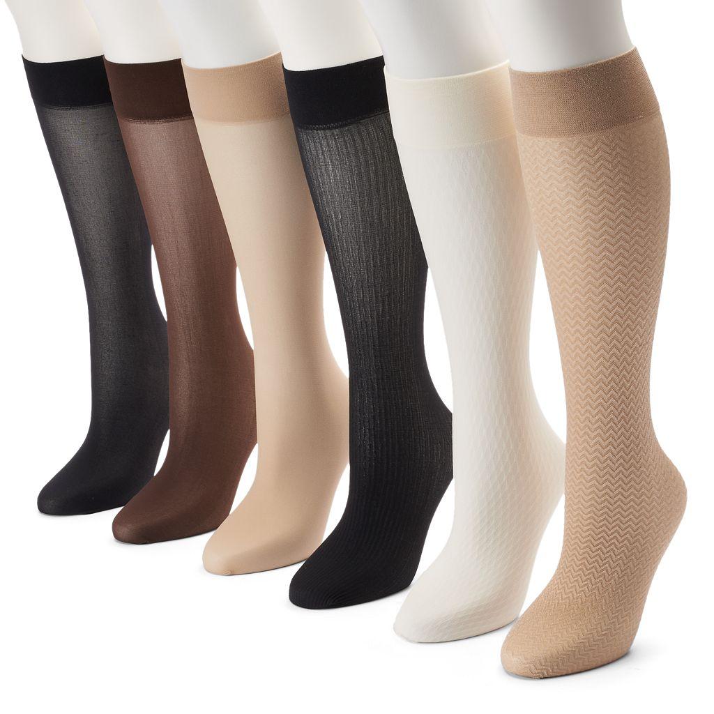 Apt. 9® 6-pk. Trouser Socks