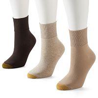 GOLDTOE® 3-pk. Anklet Socks
