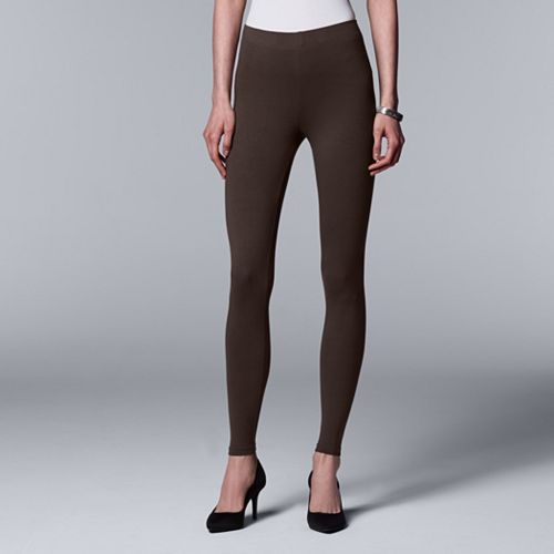 2175770c8e3e3 Women's Simply Vera Vera Wang Solid Leggings