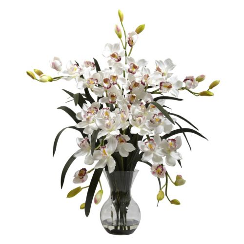 nearly natural Large Cymbidium Floral Arrangement