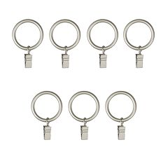 Umbra 7-pk. Clip Curtain Rings