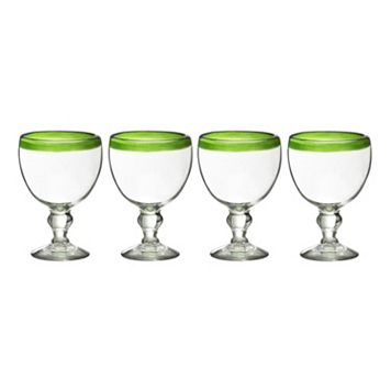 Amici by Global Amici El Gordito 4-pc. Oversized Glass Set