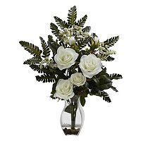 nearly natural Rose & Chryistam Floral Arrangement