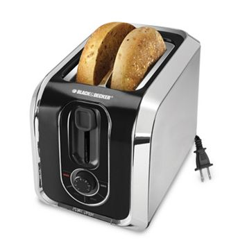 Black & Decker 2-Slice Silver Toaster