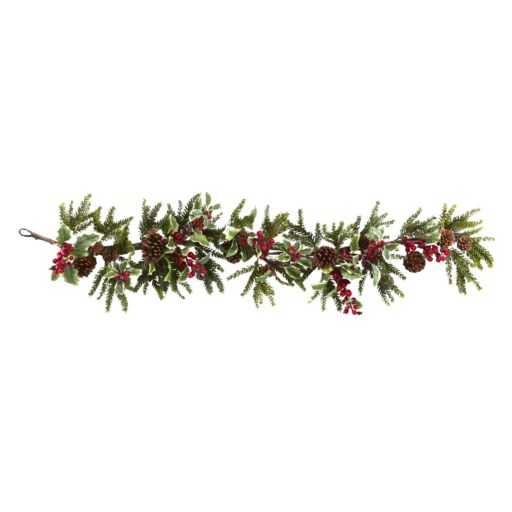nearly natural Holly Berry Christmas Garland