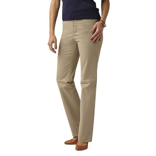 finest selection buy good lovely luster Dockers® Hello Smooth Straight-Leg Khaki Pants - Women's