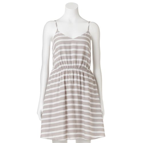LC Lauren Conrad Striped Challis Dress - Women's