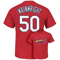 Majestic St. Louis Cardinals Adam Wainwright Tee - Men