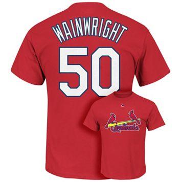 Majestic St. Louis Cardinals Adam Wainwright Tee - Men