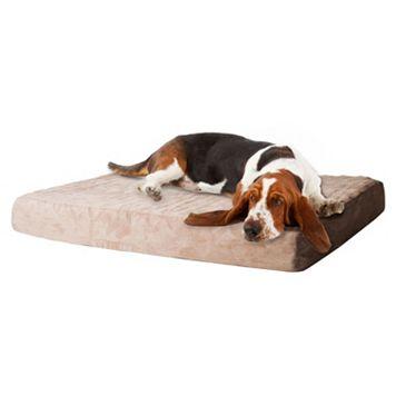 PAW Orthopedic Memory Foam Rectangular Pet Bed - 26'' x 19''