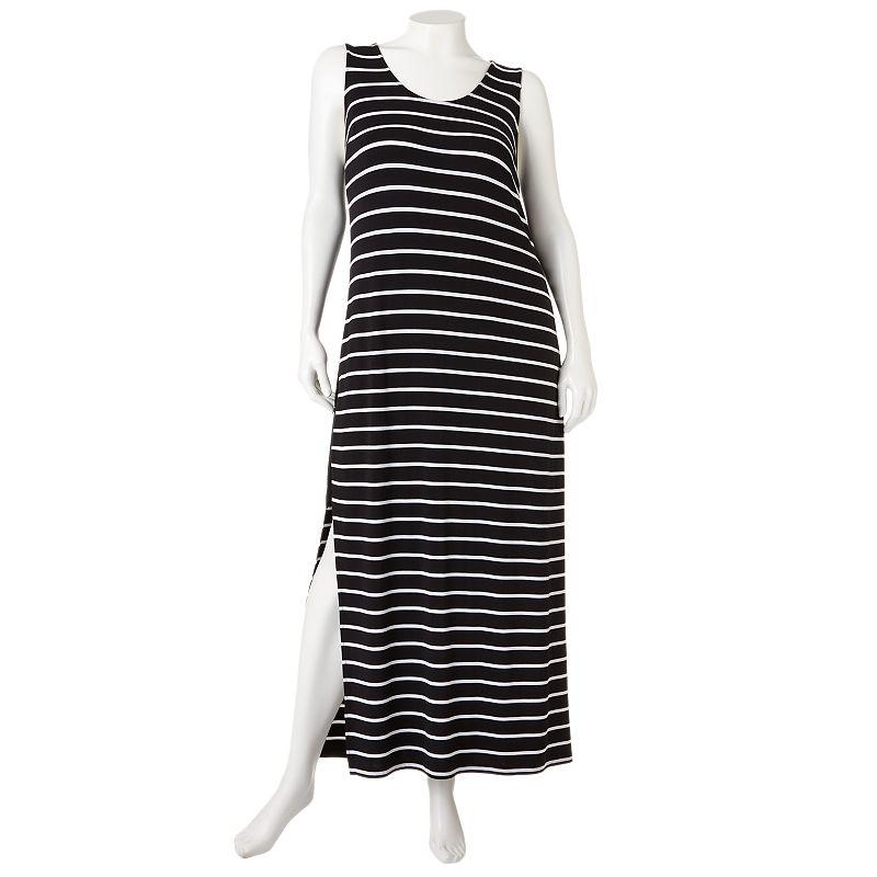 Apt. 9 Striped Maxi Dress - Women's Plus