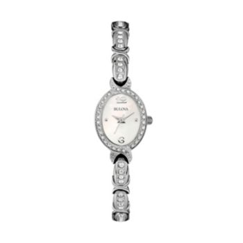 Bulova Women's Crystal Stainless Steel Watch - 96L199
