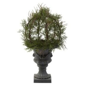 nearly natural Pond Cypress Topiary - Indoor & Outdoor