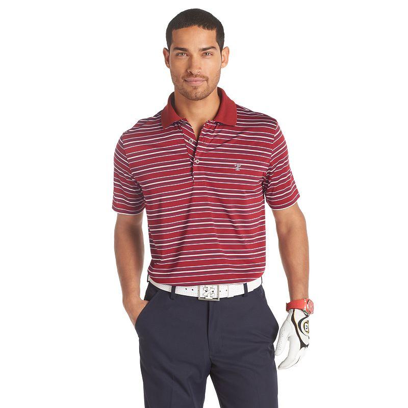 IZOD Patriot Striped Golf Polo - Men