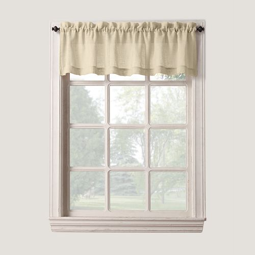 SONOMA Goods for Life™ Ayden Linen Blend Tier Window Valance - 56'' x 14''