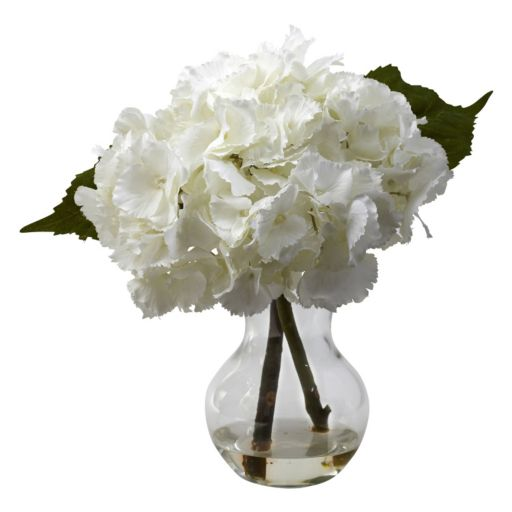 nearly natural Blooming Hydrangea Floral Arrangement