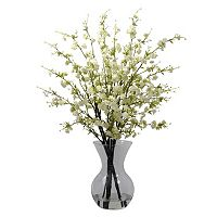 nearly natural Cherry Blossoms Floral Arrangement