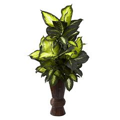 nearly natural 4.1-ft. Potted Dieffenbachia Plant