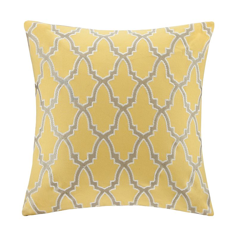 Kohls Yellow Throw Pillow : Machine Wash Textured Pillow Kohl s